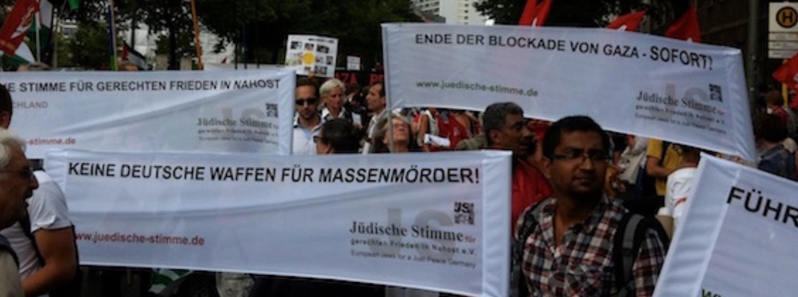 Berlin fuer Gaza demo Juli 2014
