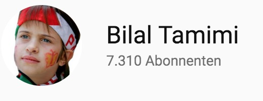 Bilal Tamimis Youtube Channel