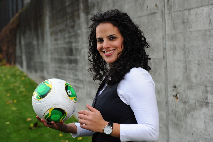 Honey Thaljieh Palestinian women football